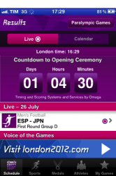 London Olympics 2012: plenty of iOS apps to follow the games – and have fun!